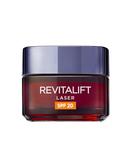 L'oréal Paris Revitalift Láser Crema De Día Anti-Edad Renovadora Con Protección Solar Spf20 - Con Proxylane - 50ml