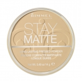 Rimmel London Stay Matte Long Lasting Pressed Powder 006