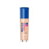 Rimmel London Match Perfection Foundation Spf20 101 Classic Ivory 30ml