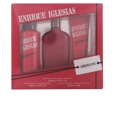 Enrique Iglesias Adrenaline Eau De Toilette Spray 100ml Set 3 Pieces