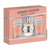Enrique Iglesias Deeply Yours Eau De Toilette Spray  90ml Set 3 Pieces 2018