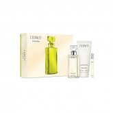 Calvin Klein Eternity Woman Eau De Perfume Spray 100ml Set 3 Pieces 2018