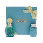Miu Miu L'Eau Bleue Eau De Perfume Spray 100ml Set 2 Piezas 2020
