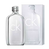 Calvin Klein One Platinum Edition Eau De Toilette Spray 100ml
