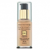 Max Factor Facefinity 3 In 1 Primer, Concealer And Foundation Spf20 75 Golden 30ml