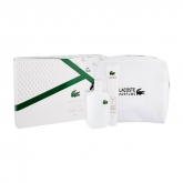 Lacoste L12.12 Blanc Eau De Toilette Spray 100ml Set 3 Pieces 2019