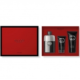 Gucci Guilty Homme Eau De Toilette Spray 90ml Set 3 Pieces 2018