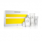 Calvin Klein CK One Eau De Toilette Spray 200ml Set 4Pz