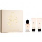 Armani Si Eau De Parfum Spray 50ml Set 3 Artikel 2016