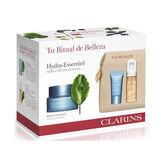 Clarins Hydra-Essentiel Feuchtigkeitscreme Crème désaltérante Spf15 50ml Set 4 Artikel