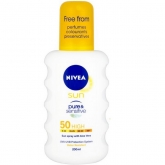 Nivea Sun Protect And Sentivite Spf50 Spray 200ml