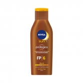 Nivea Sun Protect And Bronze Tan Activating Protecting Oil Water Resistant Spf6 200ml