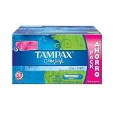 Tampax Compak Super Tampones Con Aplicador 36 Unidades