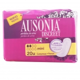 Ausonia Discreet Mini Sanitary Towels 20 Units