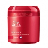 Wella Brilliance Tratamiento Cabello Coloreado Grueso 150ml