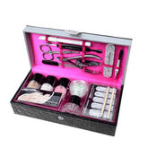 Markwins The Color Institute Be Prepared Gray Manicure Briefcase Set 17 Pieces 2020