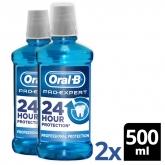 Enjuague bucal Oral-B Pro-Expert Protección Profesional 2x500ml