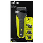 Braun Shaver 300bt Series 3 3in1