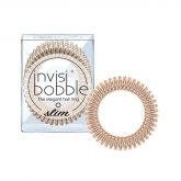 Invisibobble Coletero Slim Bronze Me Pretty 3 Piezas