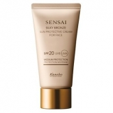 Kanebo Sensai Silky Bronze Sun Protective Cream For Face Spf20 50ml