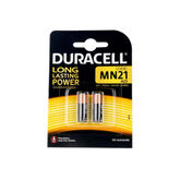 Duracell Long Lasting Power Alkaline Batteries MN21B2 12v 2 Units
