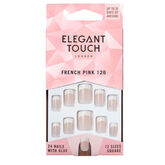 Elegant Touch Natural French Nails 126 Short