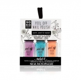 Soko Ready Peel Off Nail Polish 3 Colours 4ml
