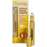 Travalo Perfume Rellenable Roll-On Color Dorado