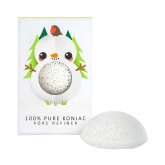 The Konjac Snowman Pure Konjac Mini Face Puff