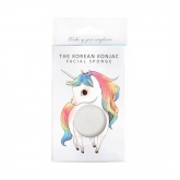 The Konjac Mythical Unicorn Standing Sponge And Hook White