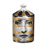 Fornasetti Perfumed Candle Gold Losanghe 300g