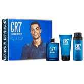 CR7 Cristiano Ronaldo Play It Cool Eau De Toilette Spray 100ml Set 3 Piezas