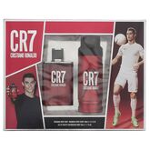 Cristiano Ronaldo CR7 Eau De Toilette Spray 50ml Set 2 Piezas