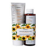 Korres Sunflower & Dittany Shampoo 250ml Set 2 Pieces