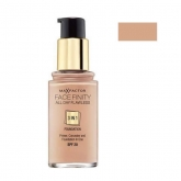 Max Factor Face Finity All Day Flawless 3 In 1 Foundation 45 Warm Almond