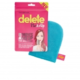 Delete Make Up Remover Guante Azul