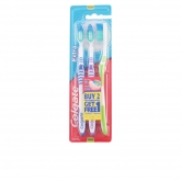 Colgate Extra Clean Medium Toothbrush 3 Units