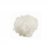 Qvs  Bath Sponge Round  White