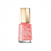 Mavala Nail Polish 118 Sunset Orange 5ml