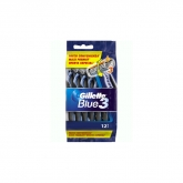 Gillette Blue III Disposable Razor 12 Units