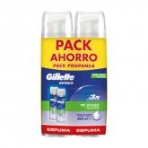 Gillette Series Rasierschaum Für Empfindliche Haut 2x250ml