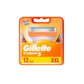 Gillette Recambios Fusion5 XXL 12 Unidades
