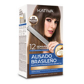 Kativa Brazilian Straightening Brunette Set 6 Pieces 2020