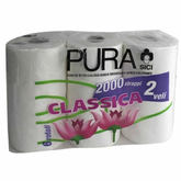 Pura 2-Ply Toilet Roll 6 pack