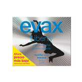 Evax Liberty Night Normal With Wings Sanitary Towels 12 Units