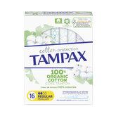 Tampax Organic Regular Tampon 16 Einheiten