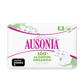 Ausonia Organic 100% Night Alas 9 Units