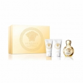 Versace Eros Eau De Perfume Spray 50ml Set 3 Pieces