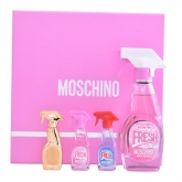 Moschino Fresh Couture Pink Eau De Toilette Spray 50ml Set 4 Pieces 2018