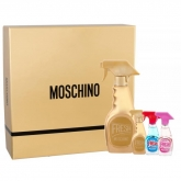 Moschino Fresh Couture Gold Eau De Perfume Spray 50ml Set 4 Pieces 2018